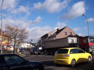 Kreuzung Lebacher Strasse und Rodener Strasse